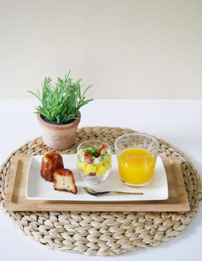 Présentation de petit déjeuner